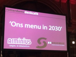 Denkcafé Arminius: ons menu in 2030