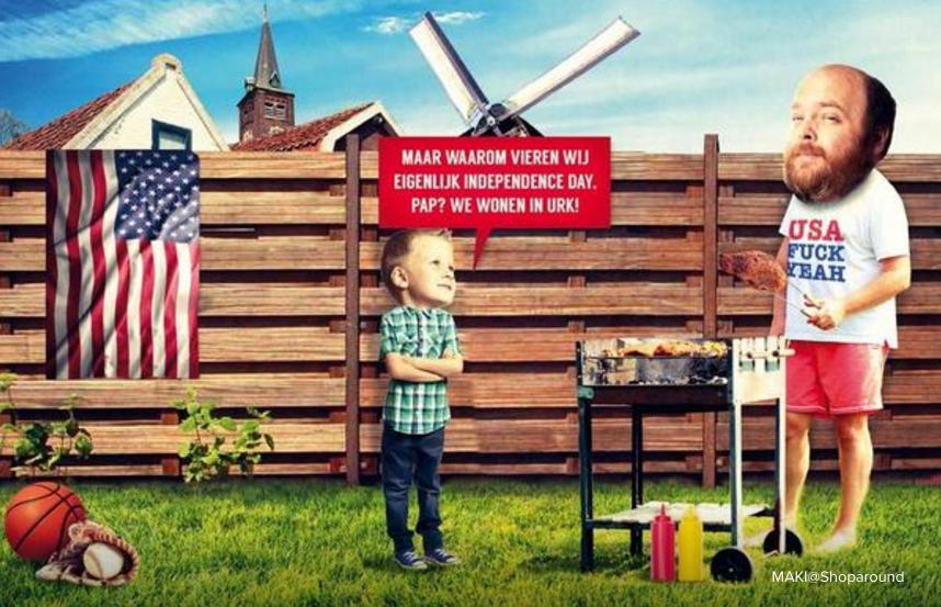 Nieuwe Revu - Amerikanisering - Feestdag